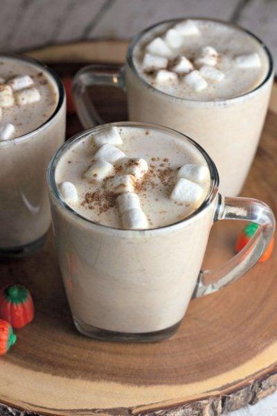 pumpkin spiced hot chocolate recipe
