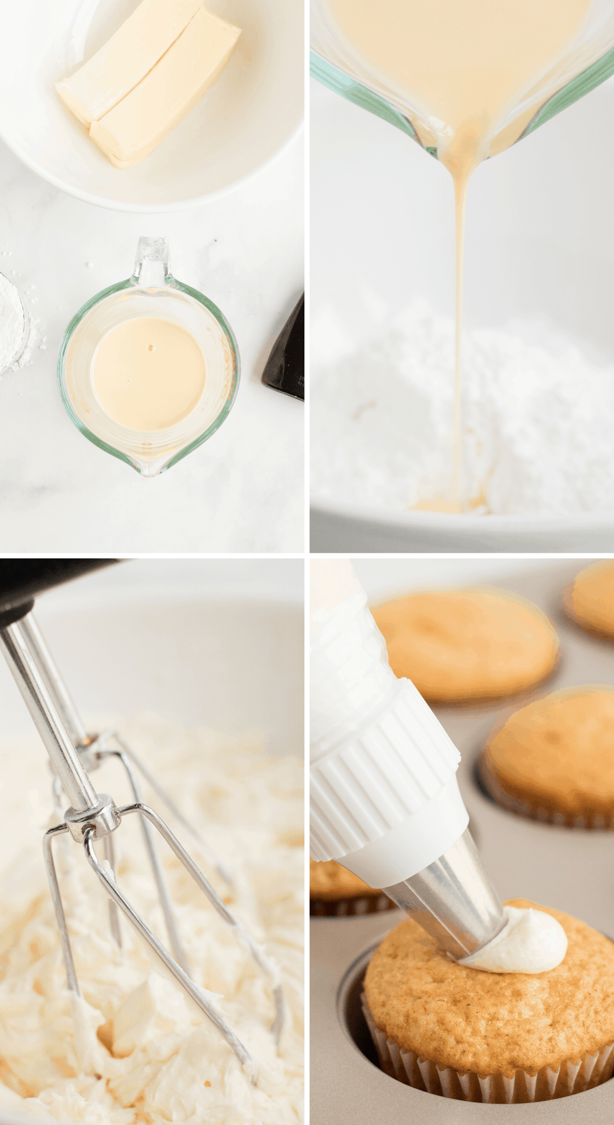 how to make eggnog buttercream icing photos