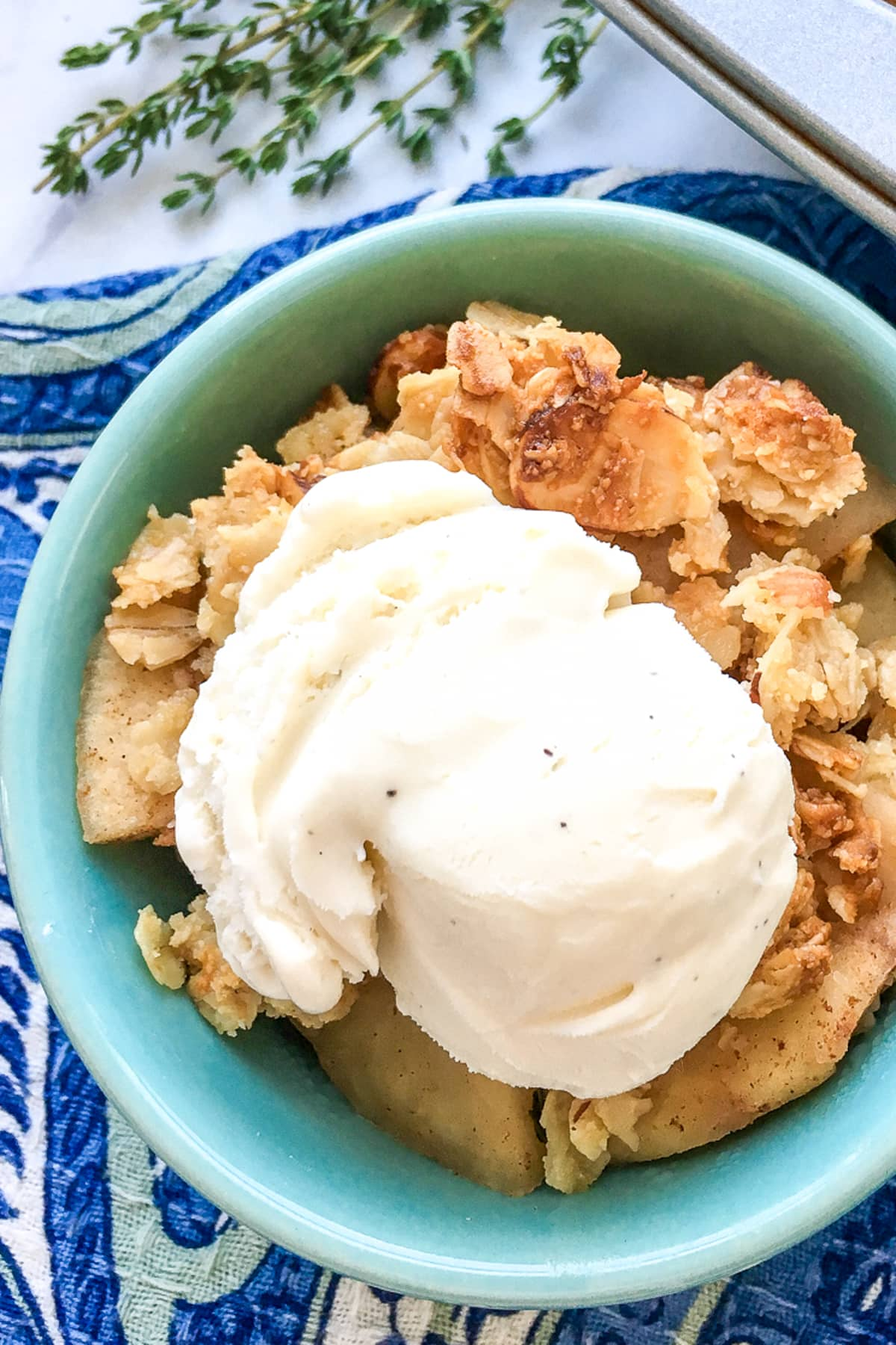 old fashioned apple crisp recipe with oats