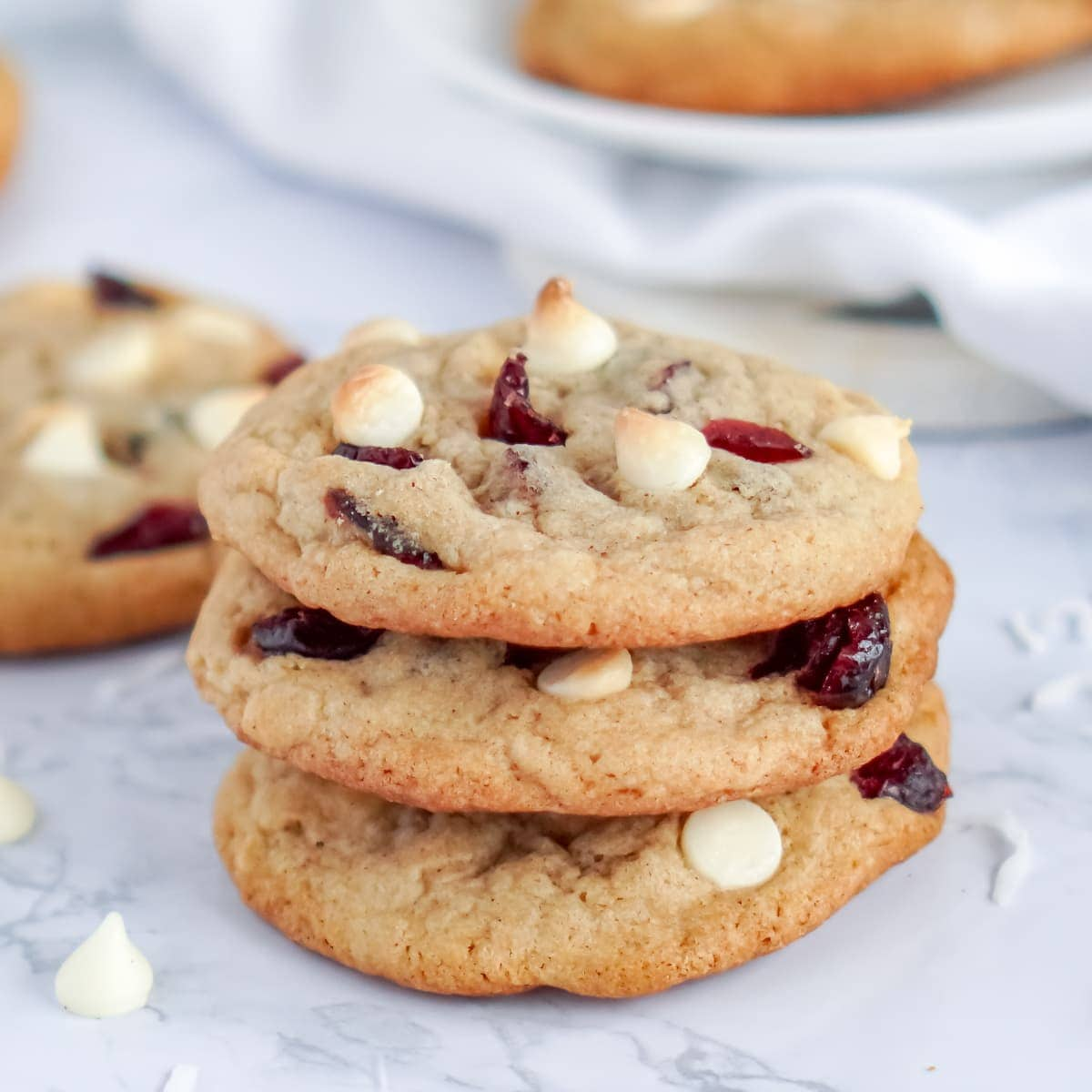 White chocolate chip cranberry cookie recipe