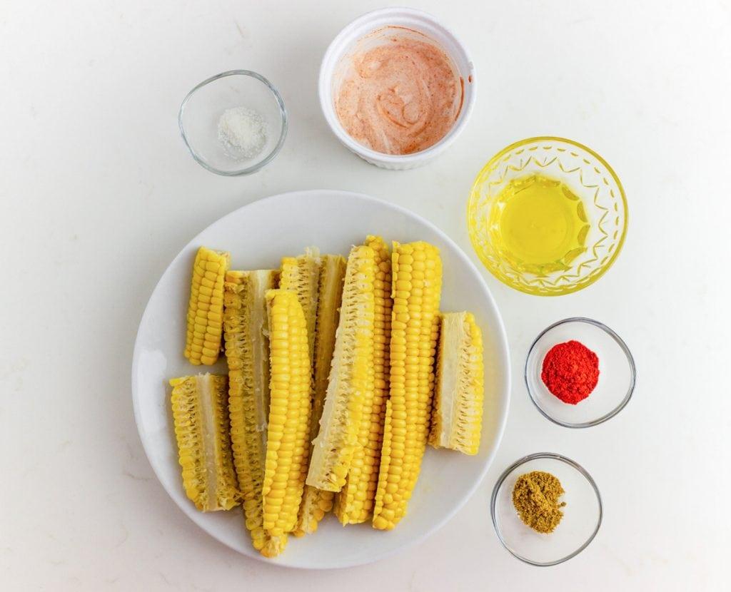 corn riblet ingredients